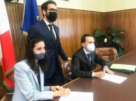 corsico-sindaco-ventura-assessori-Salcuni-e-stoppa