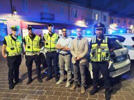 polizia locale con Buccinasco prima serata