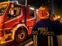 corsico-incendio-ambulanze-soccorso